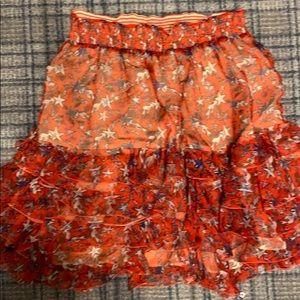 Just Cavalli silk skirt